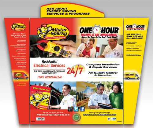 One Hour Heating & Air Print Ad
